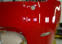AXIOME automotive bumper cutting