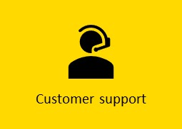 Customer support service AXIOME