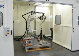 AXIOME Machining test facility